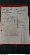 ENSEMBLE FACTURES FABRIQUE DE BIJOUTERIE JOALLERIE C. GRIVAUD LYON 1952 - Frankreich