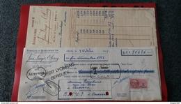 ENSEMBLE FACTURES FABRIQUE DE BIJOUTERIE  JOALLERIE JEAN DENYS ET LEROY 1952 - Frankreich