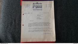 JOAILLERIE BIJOUX MODERNES ETS SANNE LYON 1952 - Frankreich