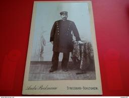 PHOTO PERSONNE MILITAIRE STRASSBURG SCHILTIGHEIM PHOTO BOCKMAN - War, Military