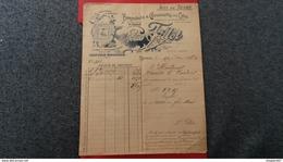 FACTURE BONNETERIE ET CHAUSSURES EN GROS LEON FILLOT SENS 1903 - Autres