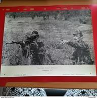 GRANDE PHOTO EXERCICE FRANCO GABONAIS ESTUAIRE 77 SNIPER - War, Military