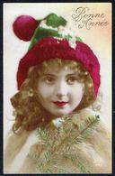 FEMME - CP - Jeune Femme Avec Bonnet - Circulé - Circulated - Gelaufen - 1923. - Femmes
