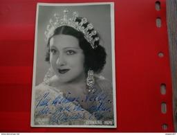 CARTE PHOTO DEDICACE ARTISTE OPERA GERMAINE PAPE PHOTO RODRIGUES PARIS - Signed Photographs