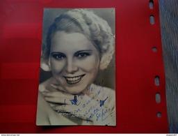 CARTE PHOTO DEDICACE ARTISTE OPERA ODETTE DEPRES - Signed Photographs