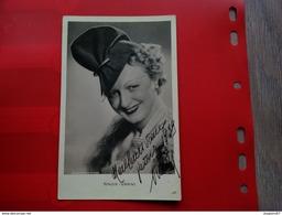 CARTE PHOTO DEDICACE ARTISTE OPERA NINON VANNI 1939 - Foto Dedicate