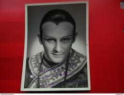 PHOTO DEDICACE ARTISTE OPERA JACQUES PIERRE 1938 PHOTO PALISSON LE HAVRE - Signed Photographs