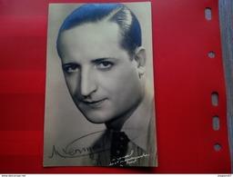 CARTE PHOTO DEDICACE ARTISTE OPERA A IDENTIFIER 1931 - Signed Photographs