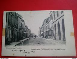 SOUVENIR DE PHILIPPEVILLE RUE DE FRANCE - Philippeville