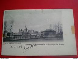 SOUVENIR DE PHILIPPEVILLE QUARTIER DES ECOLES - Philippeville