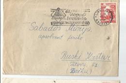 Slovenia Novo Mesto Flam NOVOTEKS TEKSTILNA TOVARNA NOVO MESTO 1955 - Lettres & Documents