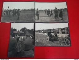 LOT 4 PHOTO MILITAIRE PRINCE LEOPOLD - Guerre, Militaire