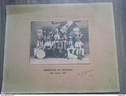 PHOTO CONSCRITS DE ROSENAU 1910 LCASSE 1930 PHOTOGRAPHE KEMBS - Guerre, Militaire