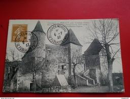 BERAULT PRES CONDOM CHATEAU FORT CACHET CONGRES MANDIAL PUBLICITE PARIS 1937 - Cachets Commémoratifs