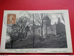 CHATEAU DE PEYRIAC CACHET CONGRES PSYCHOLOGIE PARIS 1937 - Cachets Commémoratifs