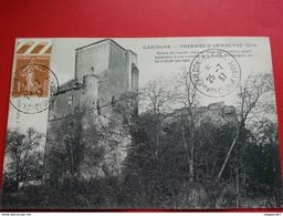 THERMES D ARMAGNAC CHATEAU CACHET CONGRES INT. PSYCHOLOGIE PARIS 1937 - Cachets Commémoratifs