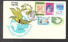 UPU Scarce FDC 1974 (Bu-11) - Myanmar (Burma 1948-...)