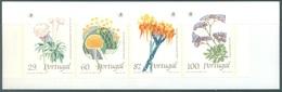 PORTUGAL - 1989 - MNH/*** LUXE BOOKLET - FLORES FLEURS BLOEMEN FLOWERS - Mi  MH6 Yv  C1780a - Lot 19414 - Carnets