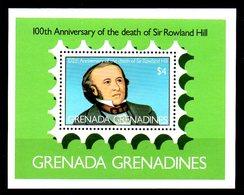GRENADINES. BF 44 De 1979. Rowland Hill. - Rowland Hill