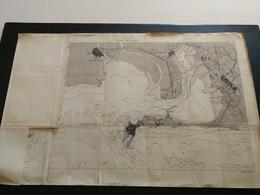 ANNALES PONTS Et CHAUSSEES - Plan Du PORT DE CADIX ( Espagne Andalousie ) Gravé Par Macquet 1890 (CLA6) - Cartes Marines