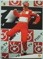 Michael Schumacher Champion Du Monde Avec Shell Et Ferrari. - Sportifs