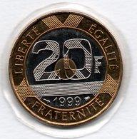 20 Francs 1999   - état  FDC  - Scellée - L. 20 Francs