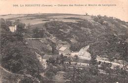 La Rochette (23 - Creuse) Château Des Roches Et Moulin De Lavignolle - Andere Gemeenten