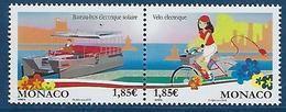 "Monaco YT 2870 & 2871 "" Transport écologiques "" 2013 Neuf** - Unused Stamps"