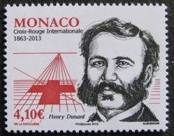 """Monaco YT 2866 """" Croix-Rouge, H. Dunant """" 2013 Neuf** - Monaco"""