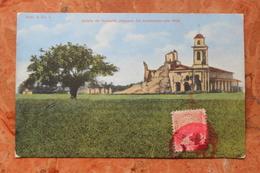 IGLESIA DE HUMAITA DESPUES DEL BOMBARDEO ANO 1869 (PARAGUAY) - Paraguay