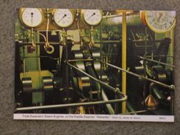 WAVERLEY - ENGINE - Steamers