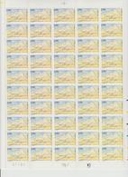 Faciale 21.35 Eur ; Feuille De 50 Tbs à 2.80 Fr N° 2891 (cote 65 Euros) - Feuilles Complètes