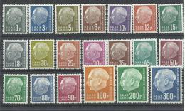 SARRE YVERT   391/410  MH  * - 1957-59 Estado Federado
