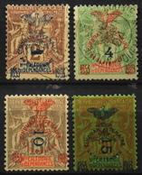 Nouvelle-Calédonie > 1859-1909 > 1903 N° 81-84-85-86 Y & T - NEUF*/O - Ungebraucht