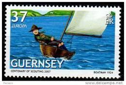 PIA  -  GUERNSEY  - 2007 : EUROPA   -   (Yv  1140-41) - Europa-CEPT