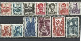 SARRE YVERT   231/43   MH  * - 1947-56 Ocupación Aliada
