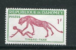 DAHOMEY- Taxe Y&T N°32- Neuf Sans Charnière ** - Bénin – Dahomey (1960-...)