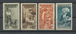 SARRE YVERT   103/6  MH  * - 1920-35 Sociedad De Naciones