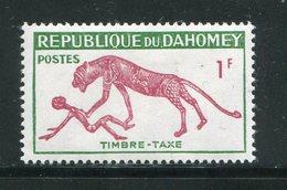 DAHOMEY- Taxe Y&T N°32- Neuf Avec Charnière * - Bénin – Dahomey (1960-...)