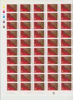 Faciale 21.35 Eur ; Feuille De 50 Tbs à 2.80 Fr N° 2908 (cote 65 Euros) - Full Sheets
