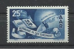 SARRE YVERT   277  MNH  ** - 1947-56 Ocupación Aliada