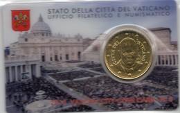 2015 VATICANO - PONTIFICATO PAPA FRANCESCO - ANNO III - COIN CARD N.6 - Vatican
