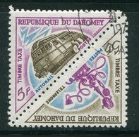 DAHOMEY- Taxe Y&T N°41 Et 42- Oblitérés - Bénin – Dahomey (1960-...)