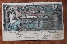 REPRESENTATION BILLET EL BANCO DE LA REPUBLICA ORIENTAL DEL URUGUAY - CINCUENTA PESOS - Uruguay