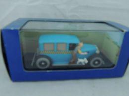 TINTIN HERGE TAXI CHECKER TINTIN EN AMERIQUE ATLAS 4 NEW IN BOX - Automobili