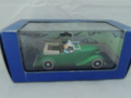 TINTIN HERGE MITRAILLEUSE ATLAS 8 L'OREILLE CASSEE NEW IN BOX - Automobili