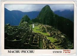 MAXICARD    MACHU  PICCHU     CUSCO               (VIAGGIATA) - Perù
