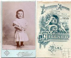 CDV - Enfant - Photo L. Aillaud - Albi   (112706) - Personnes Anonymes