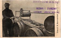 TREUIL P.BERNARDET GERBAGE DES 1/2 MUIDS ,MEDAILLE D'ARGENT EXPOSITION MACON       REF 59595A - Unclassified