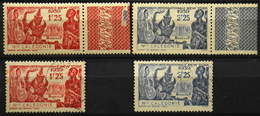 Nouvelle-Calédonie > 1910-1939 > 1939 N° 173-174 Y & T - NEUFS**/O - New Caledonia